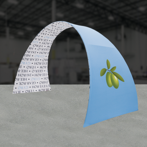 Formulate 20ft Arch 03 Tension Fabric Structure